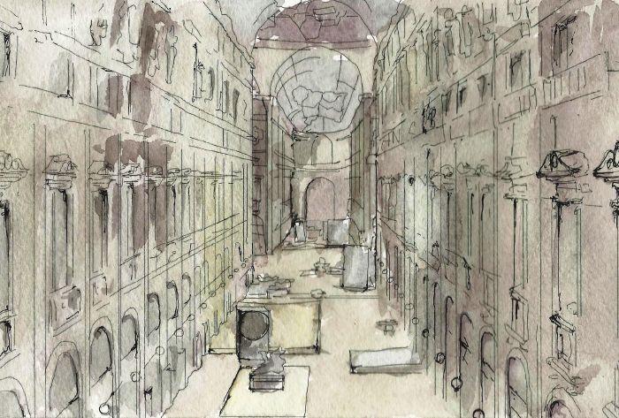 La Galleria Vittorio Emanuele II come spazio di decompressione.