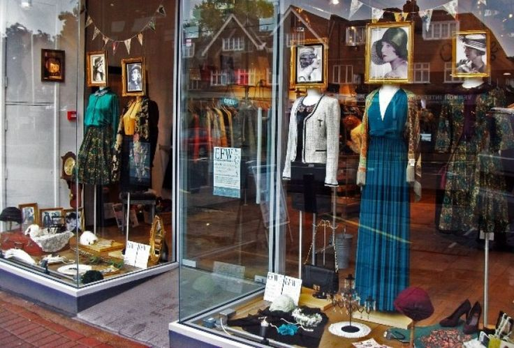 charity shop display ideas - Google Search