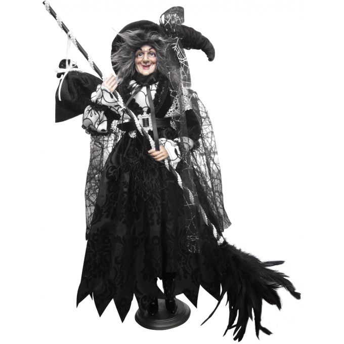 Clarissa Black & White , one of the Witch dolls from the Witches of Pendle Shop, so cute!