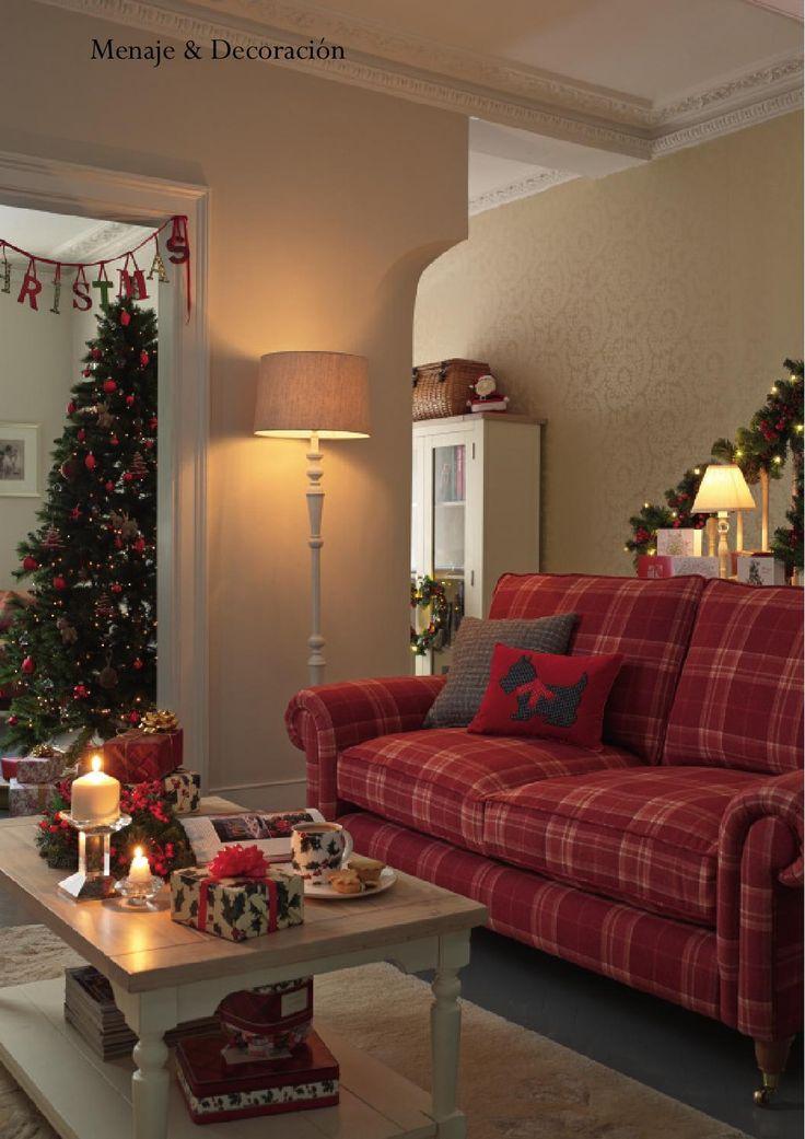 Laura ashley navidad 2013 muebles rojo sof rojo y - Muebles laura ashley ...