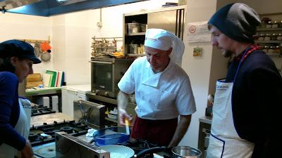 Giglio Cooking School: ... and in the Meanwhile, What is Giovanni Doing?