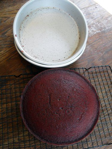 Homemade Cake Release mixture to replace Baker's Joy, made from shortening, vegetable oil, and flour.