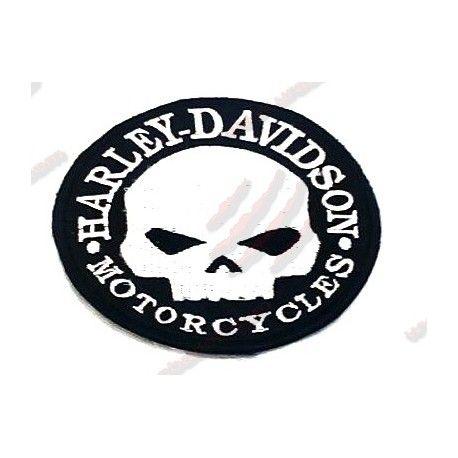 Parche Harley Davidson Calavera