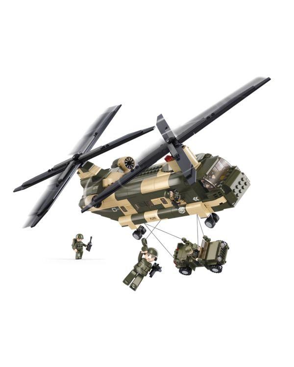 Chinook Helicopter (Sluban - B0508)