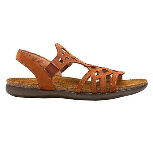 Naot Footwear Womens Rebecca Sandal Hawaiian Brown Nubuck 40 EU859 M US *  For more information