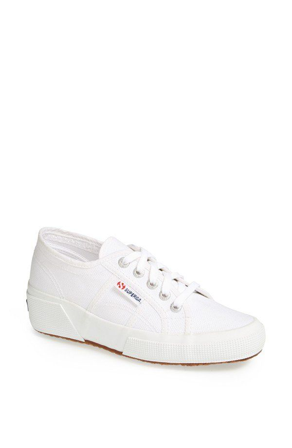 Pin for Later: The 8 Types of Sneakers Every Fashion Girl Needs in Her Closet This Season  Superga 'Linea' Wedge Sneaker ($85)