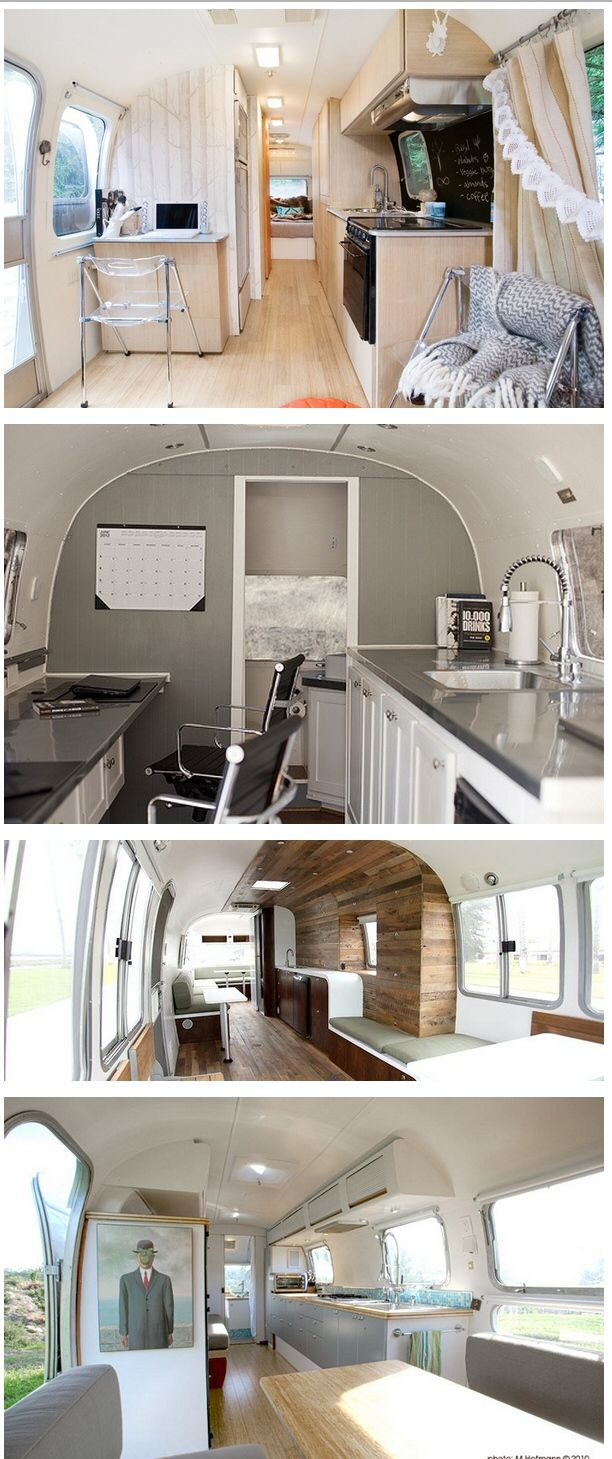 Decoration idea: set up your office in a trailer