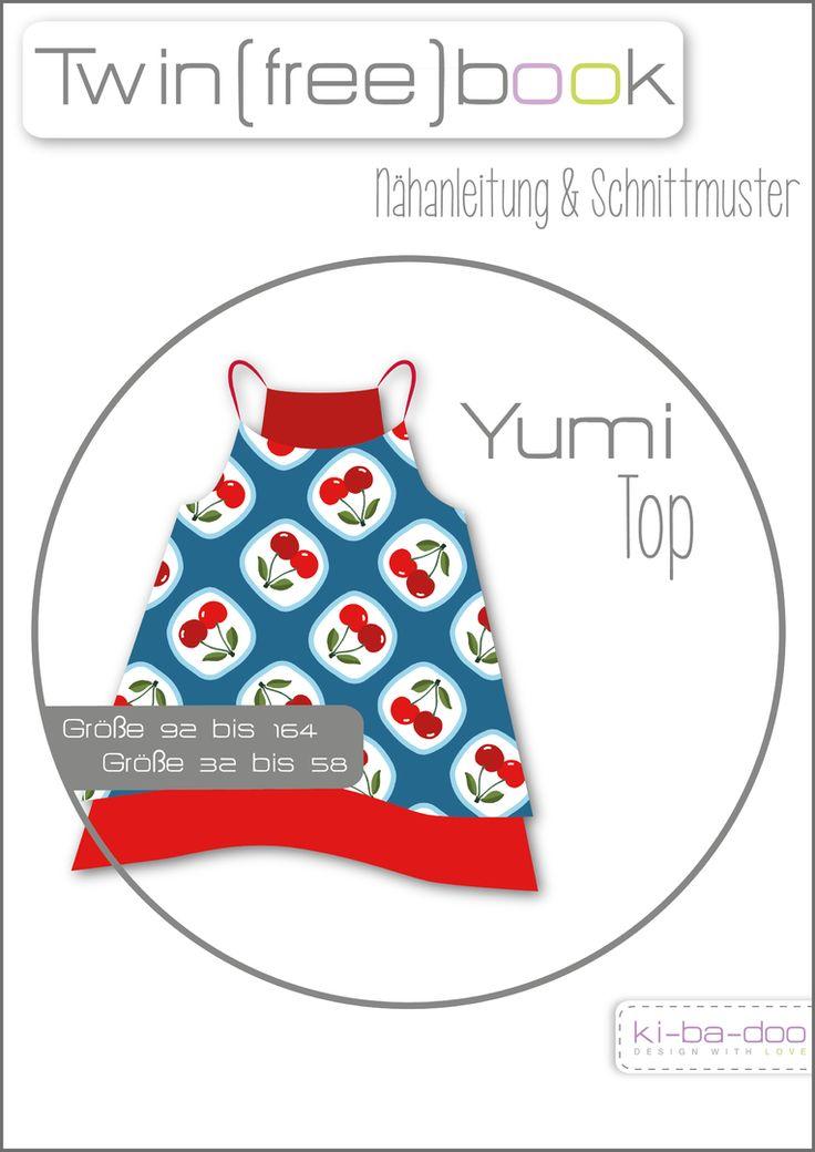 Freebook Top Yumi - Schnittmuster und Anleitung als PDF, versandkostenfrei