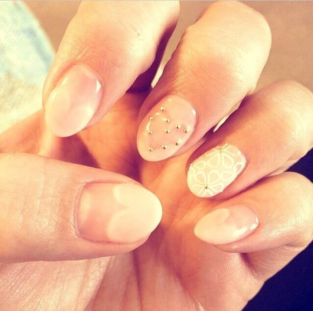 Best 25+ Valentine Day Nails Ideas On Pinterest