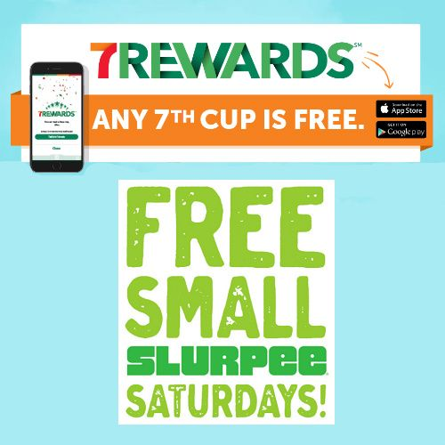 Free Drinks and Slurpees when you download the 7-11 App  http://www.mybargainbuddy.com/7-11-app-free-drinks-free-slurpees