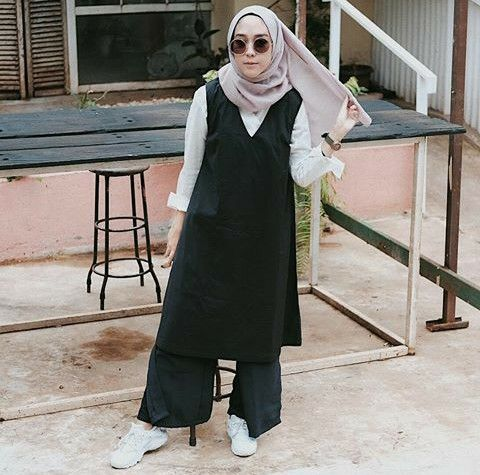 Hijab inspiration from ka Intan khasanah