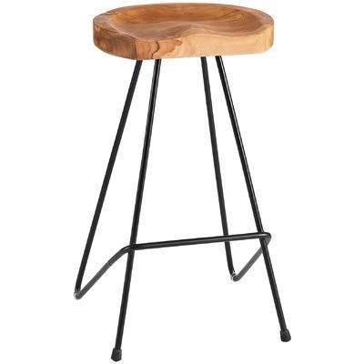 Industrial Pin Iron Barstool by La Verde. Get it now or find more Bar Stools at Temple & Webster.