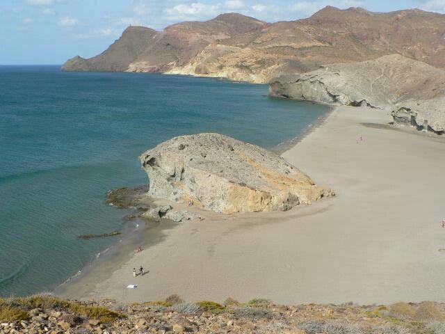 Playa de Monsul. Almeria. España