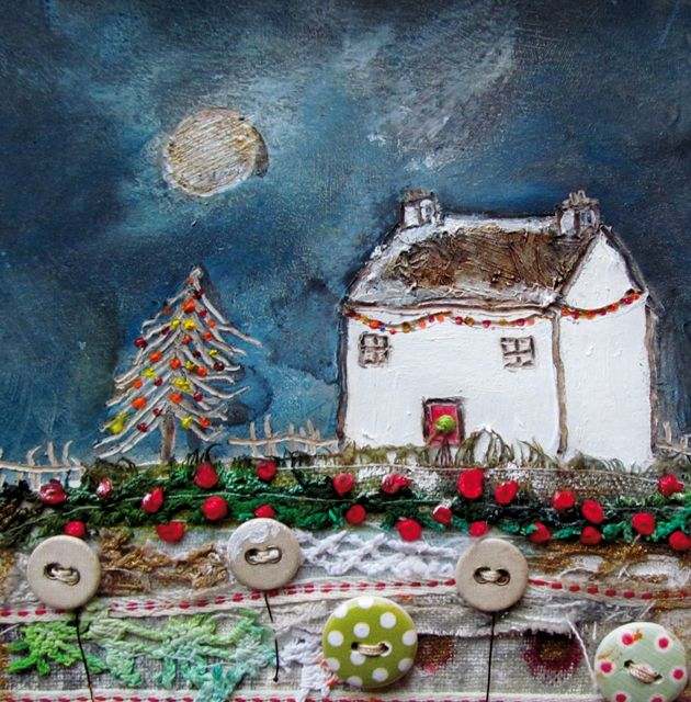 Best 1120 christmas winter greeting cards images on pinterest louise ohara is a professional mixed media artist based in the heart of cheshire green pebble is delighted to publish many of her works as greeting cards m4hsunfo