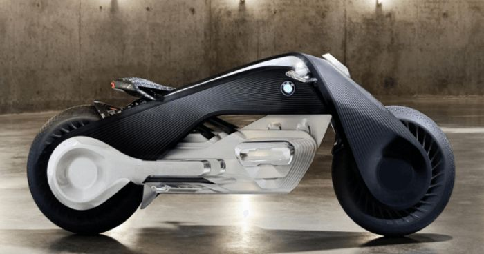 BMW Motorrad Vision Next 100 - The Self Balancing Bike Of The Future! :http://gossfeed.com/2016/10/17/motorrad-bmw-vision-next-100/
