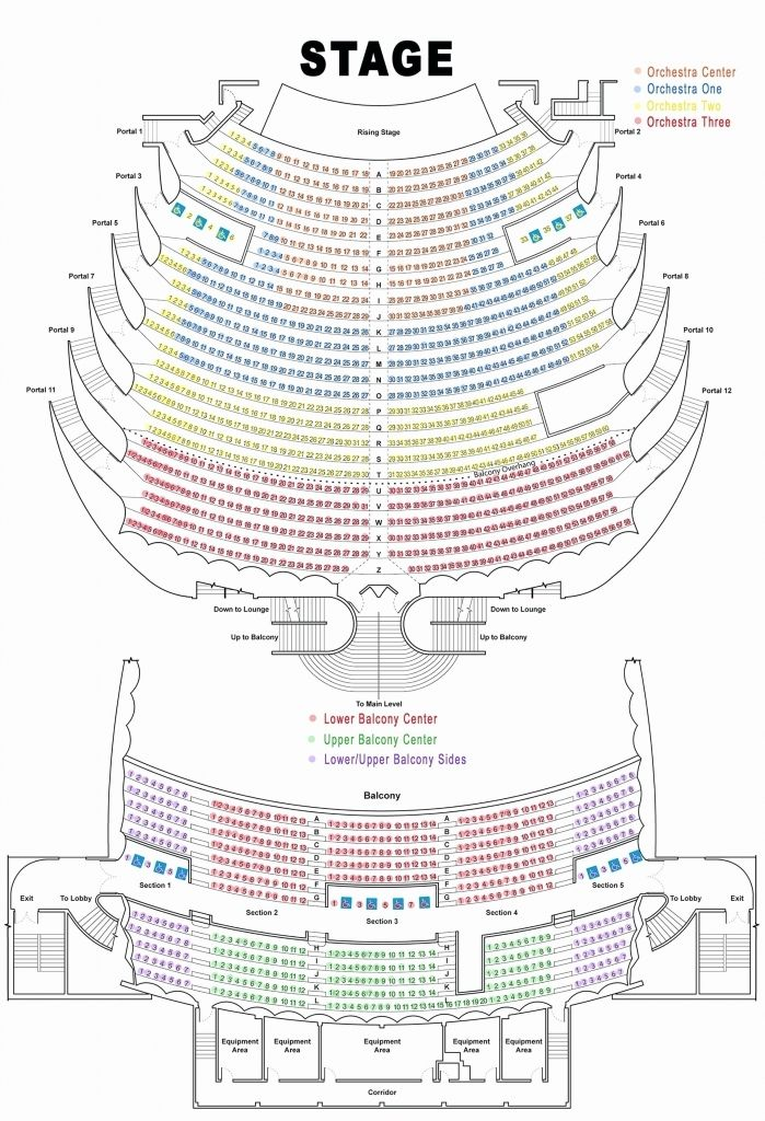 The Most Incredible As Well As Beautiful Fox Theatre Seating Chart Atlanta Ga