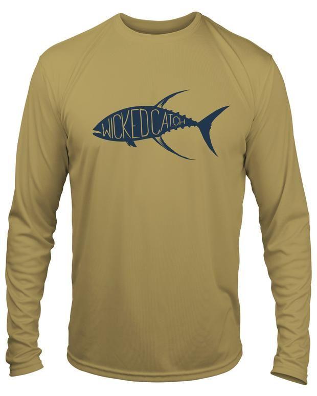 Pursuit Boats Long Sleeve Microfiber UPF Fishing Shirt Seafoam Green