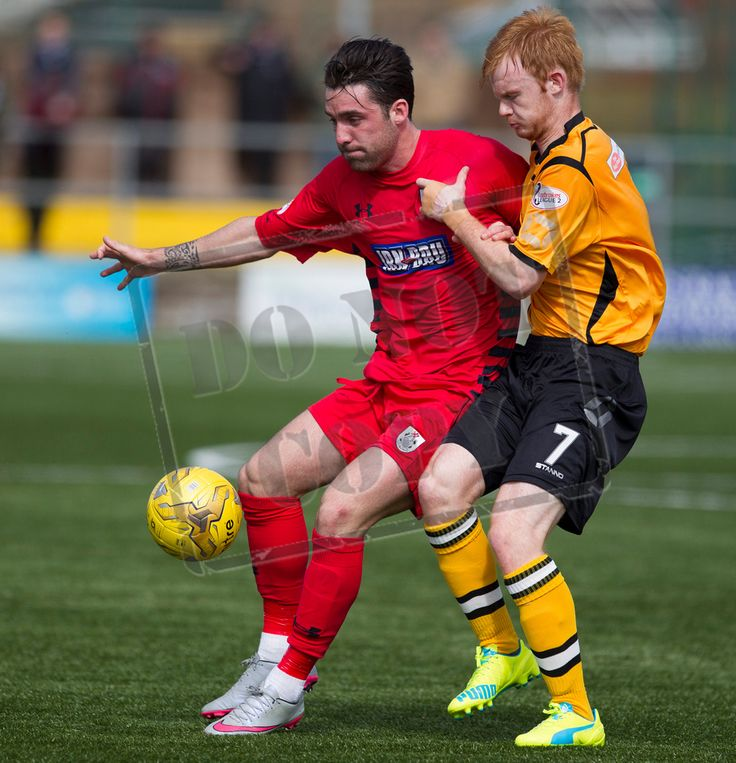 Queen's Park's Chris Duggan on the ball during the SPFL League Two game between Annan Athletic and Queen's Park.
