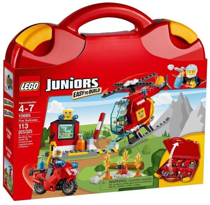 Lego 10685 Джуниорс Чемоданчик Пожар