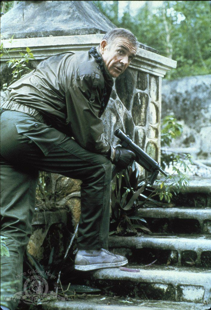 "Sean Connery as James Bond in ""Never Say Never Again"" (1983)"