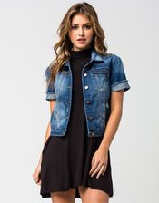 HIGHWAY Short Sleeve Denim Jacket | Jackets