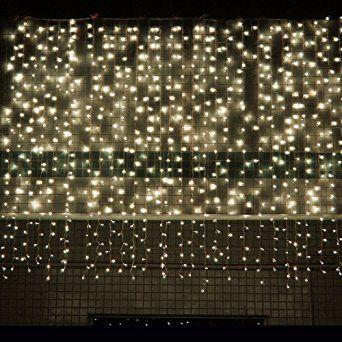 guirlande rideau lumineux 300 leds 3m x 3m lumires friques fentre lumineux led 8 modes
