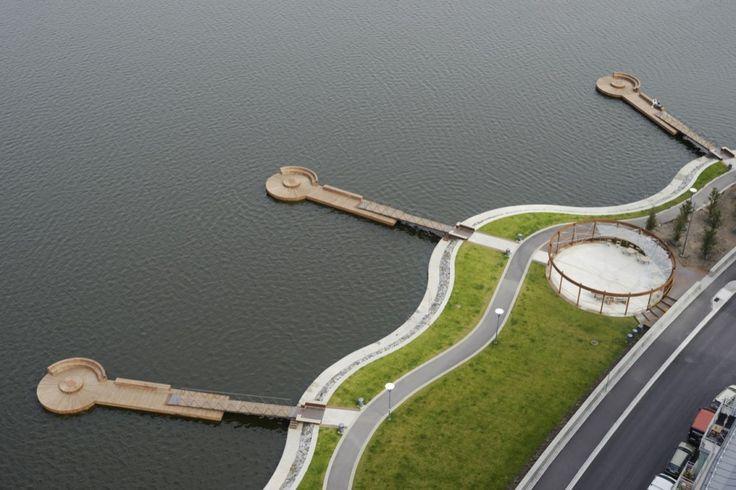 Arquitectura y Paisaje: Hornsbergs Strandpark por Nyréns Arkitektkontor