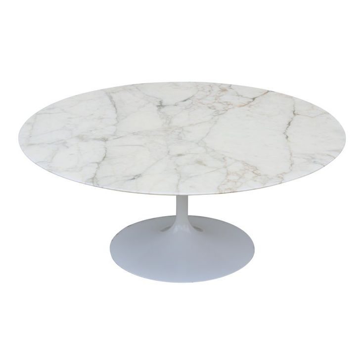 Mid Century Modern Eero Saarinen For Knoll 36 Round Marble Coffee Table 1956 Midcentury Modern Mid Century Marble Top Coffee Table