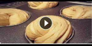 Cruffin: metà Croissant, metà Muffin - La video ricetta