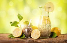Milagrosa agua de chía para controlar el apetito, perder peso y aplanar el vientre