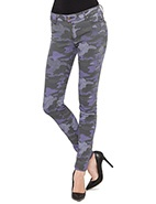 RES Denim Trashqueen Skinny - Tank Girl #davidjones #djsdenim #RES #RESdenim #army #print #denim #jeans #fashion