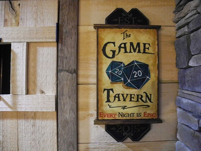 Game Room/Tavern - Every night is epic