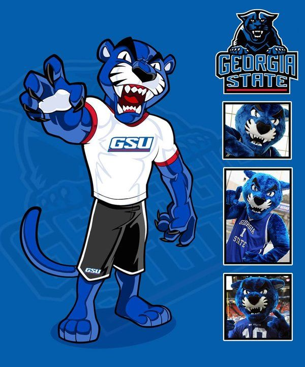 Georgia State mascot design by SOSFactory on DeviantArt