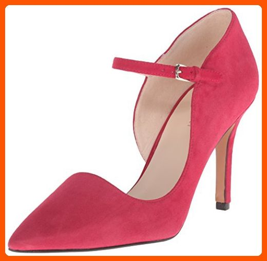 Nine West Women's Jennelle Suede Dress Pump, Red, 8.5 M US - All about women (*Amazon Partner-Link)