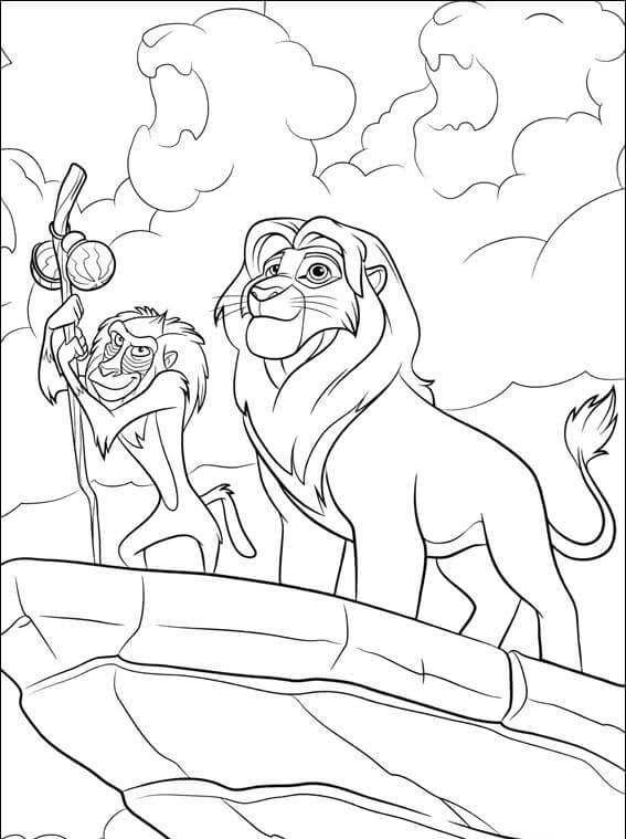 The Lion Guard Coloring Pages Collection Lion Coloring Pages