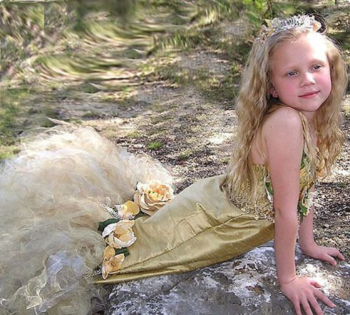 Disfraz de Sirena para niñas