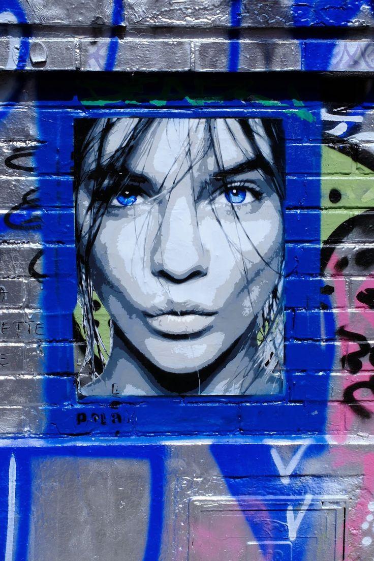 PolarBear Stencils - Street Art | Street Art | Street Artists | Art | Urban Art | Modern Art | Urban Artists | Mural | Graffiti | travel | Schomp MINI