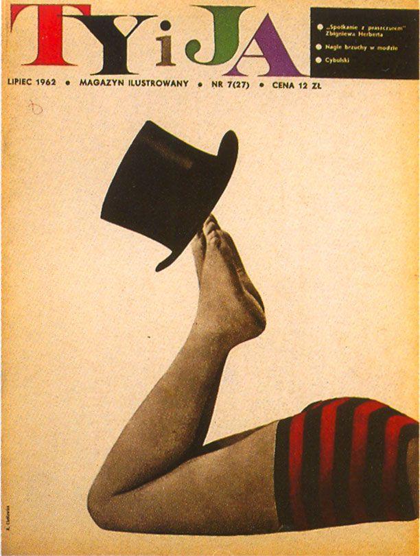 cMag464 - Ty i Ja Magazine cover by Roman Cieslewicz / 1963