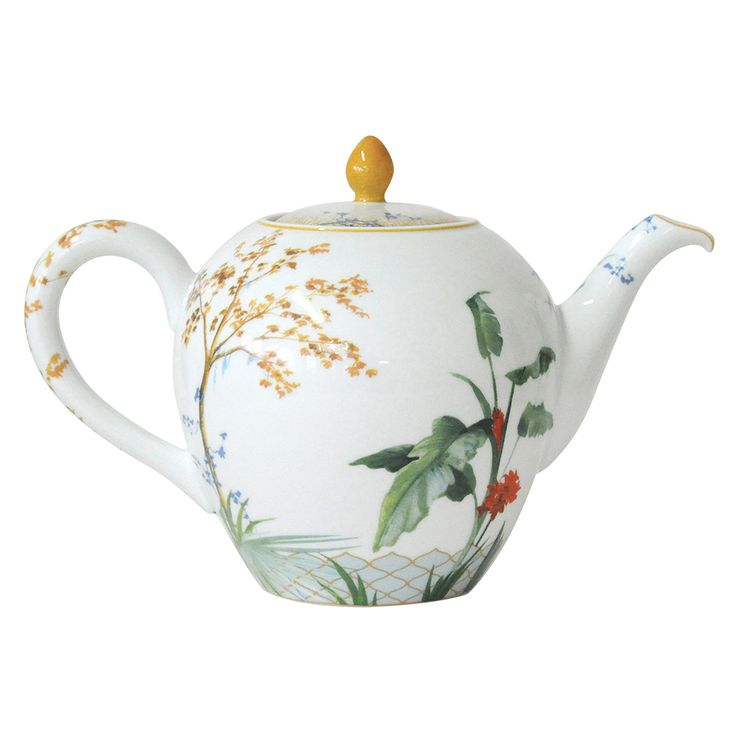 Tropics Teapot | Bernardaud