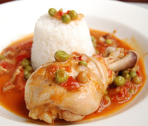 Chicken with Sweet Peas (Pollo Arvejado-CHILE)
