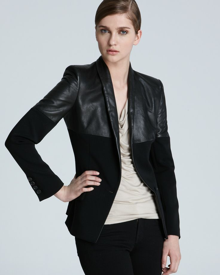 The Leather Shop: Quality Leather blazers for women