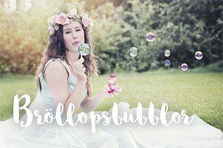 Bubblor till bröllopet