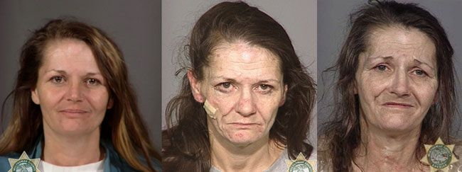 The many faces of METH, one of the most dangerous drugs, the pictures show an age progression of very few years while on it!!