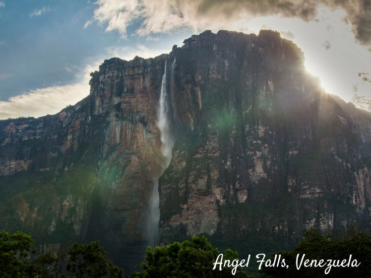 Angel Falls in Venezuela is the world's highest uninterrupted waterfall, with a staggering height of 3,212 feet and a plunge of 2,648 feet! There are a long list of activities you can do here, including boat tours, hiking and swimming. If you really seek an adventure, try a skydiving experience. Angel Falls is a very popular spot for base jumping!