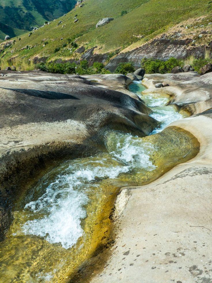 Marble Baths, Injisuthi, Drakensberg