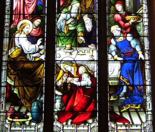 """The Supper at Bethany Monday of Holy Week Presence of God— O Lord, with Mary of Bethany I wish to pay my humble, devout homage to Your sacred Body before it is disfigured by the Passion. MEDITATION The Gospel for today (John 12:1-9) tells us of this impressive scene: """"Jesus therefore, six days before the …"""