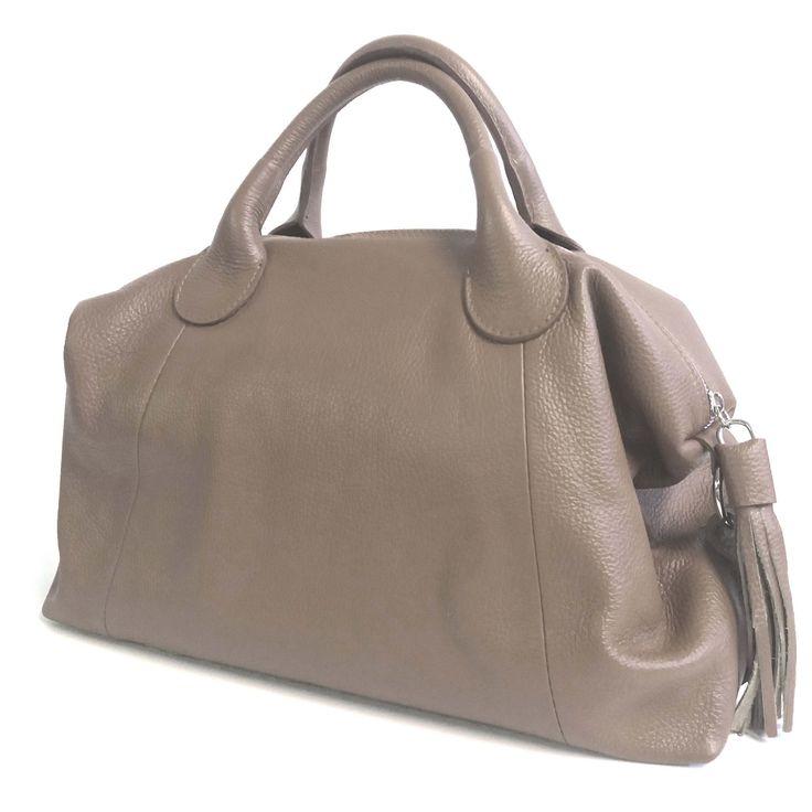JAKIE borsa donna in vera pelle made in italy. Pellame italiano, produzione artigianale. Vendita online borse in vera pelle