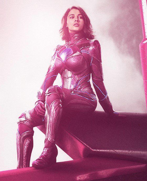 power rangers 2017 kimberly posters | High-Res Power Rangers Zords Posters Reveal Up-Close Look - Cosmic ...