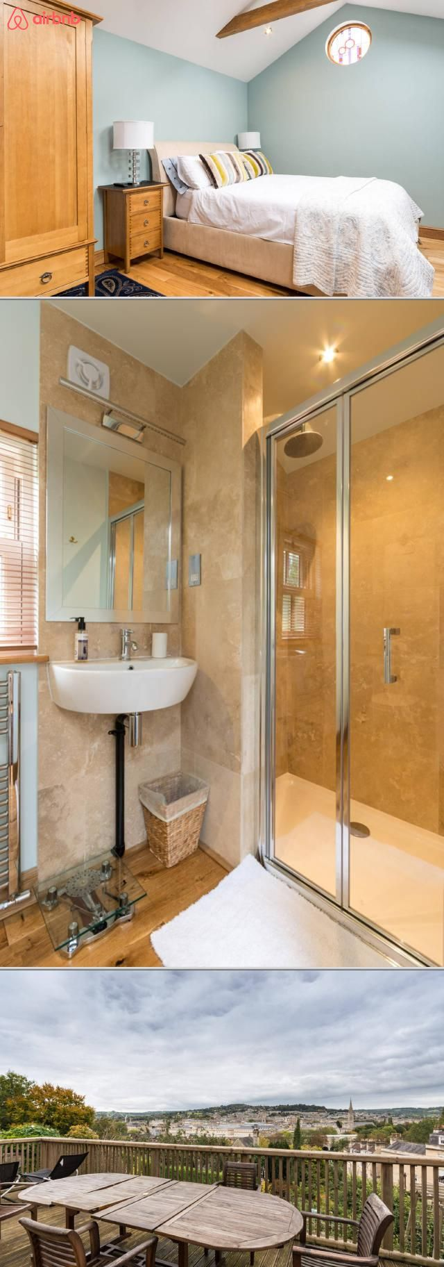 Detached studio near the Bath city centre. You'll have parking on-site, but why bother when you can enjoy a five minutes' walk to the Bath city centre, the train station, and Widcombe high street with its pubs, cafes, and shops.
