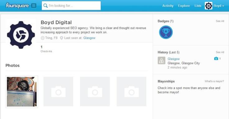 Boyd Digital Foursquare